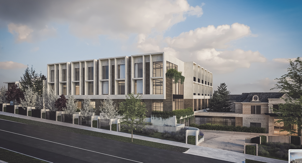 Grand Cedar extension project 1